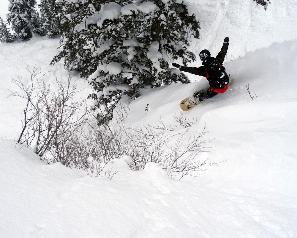 jackson hole powwow snowboarding